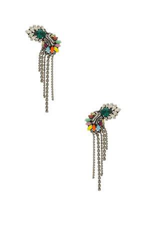 Tassel Fan Earring