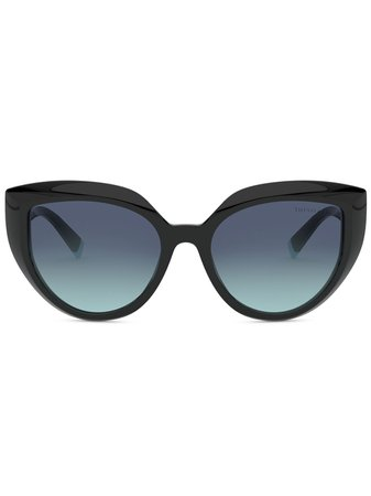 Tiffany & Co Eyewear Cat Eye Frame Gradient Sunglasses Ss20 | Farfetch.Com