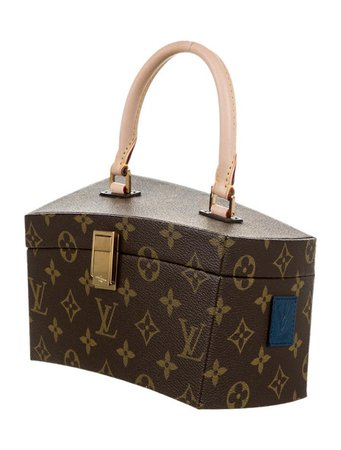 Louis Vuitton Limited Edition Twisted Box Bag