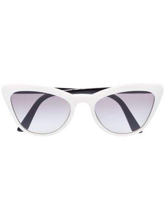Prada Eyewear cat eye tinted sunglasses