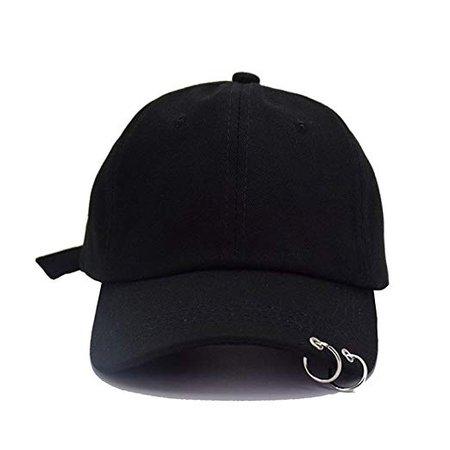 Pierced cap