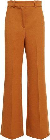 Joseph Toron Wool Drill Wide-Leg Trousers