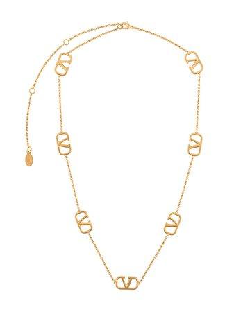 Valentino Logo Necklace | Farfetch.com