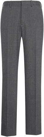 Brioni Virgin Wool Flannel Trousers