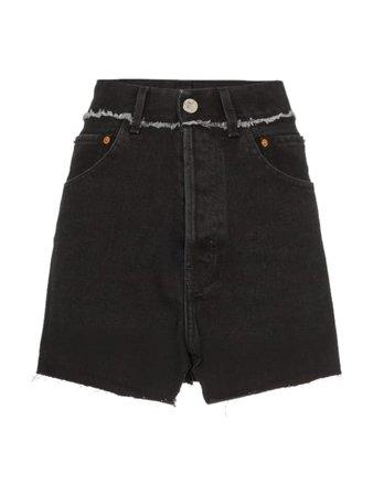 VETEMENTS Mini Denim Skirt