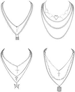 Amazon.com : goth necklace set