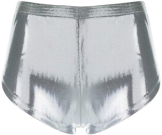 Adriana Degreas metallic shorts
