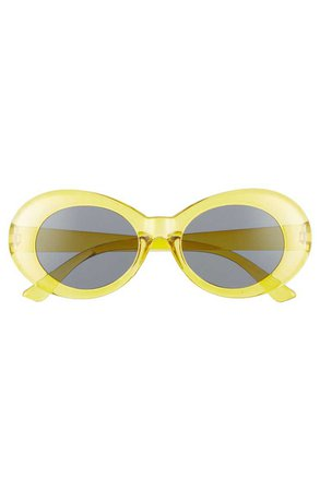 Shady Lady 50mm Round Sunglasses | Nordstrom