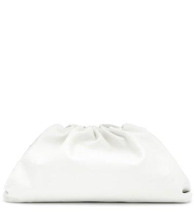 Bottega Veneta - The Pouch leather clutch   Mytheresa