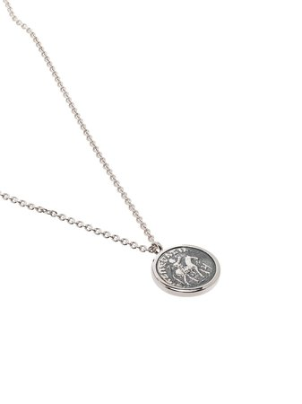 Tom Wood Coin Pendant Necklace - Farfetch