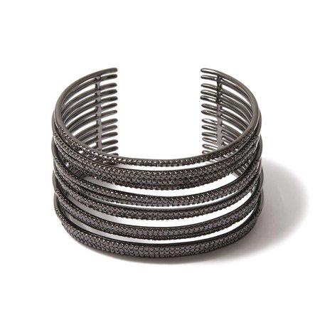 Dzhanelli Jewellery Черненый браслет Galaxy, из коллекции Embrace
