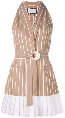 Carmona striped dress