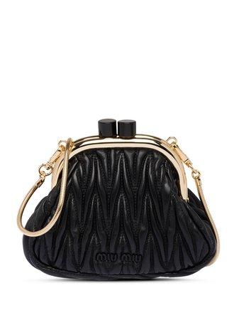 Miu Miu, Matelassé Mini Clutch Bag