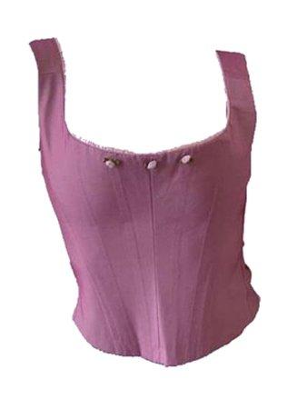 cute pink shirt corset