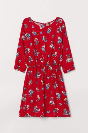 Short Dress - Red