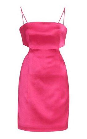 Marta Cutout Satin Mini Dress By Gauge81 | Moda Operandi