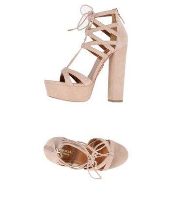 Aquazzura Sandals Light Brown
