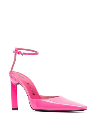 Shop The Attico Amber ankle-strap pumps with Express Delivery - FARFETCH