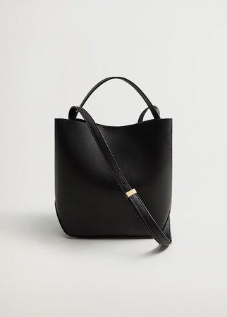 Cross-body bag - Women | Mango USA black