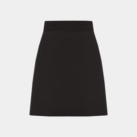 Good Wool High-Waisted Mini Skirt