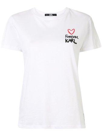 Karl Lagerfeld Forever Karl T-shirt - Farfetch