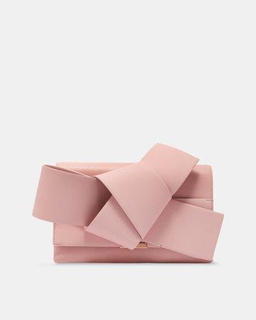 ted baker pink clutch bag -