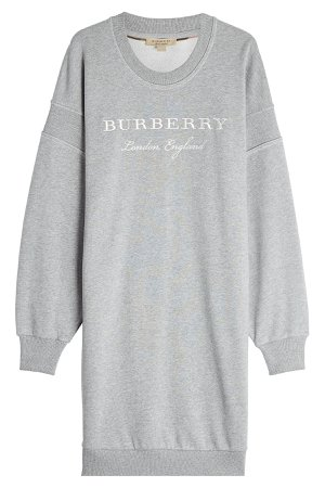 Cotton Sweatshirt Dress Gr. S