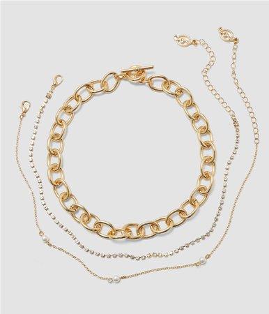 stradivarius necklaces