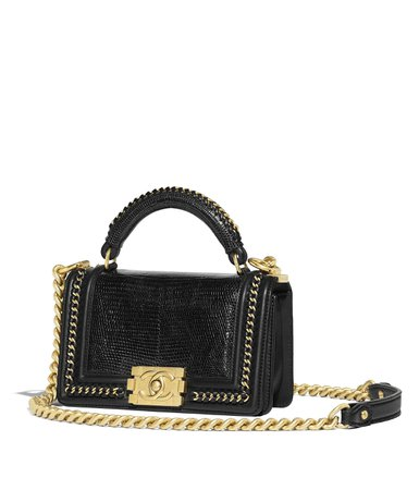 Chanel Boy Rabat Bag