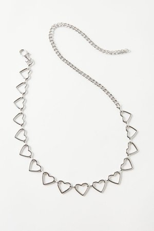 Heart Chain Belt | Urban Outfitters
