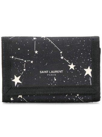 Saint Laurent constellation print wallet