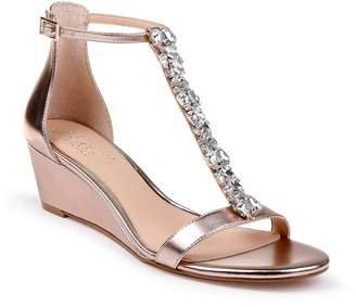 Badgley Mischka Pink Wedges - ShopStyle