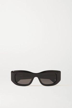 Black Square-frame acetate sunglasses | Balenciaga | NET-A-PORTER