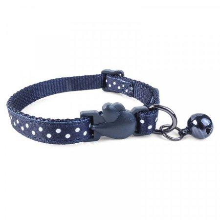 navy cat collar - Google Search