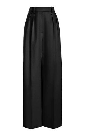 Teyana Wide-Leg Pants By Khaite   Moda Operandi