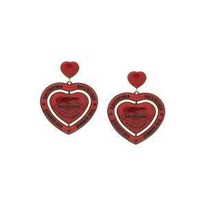 Balenciaga Casino Heart Earrings