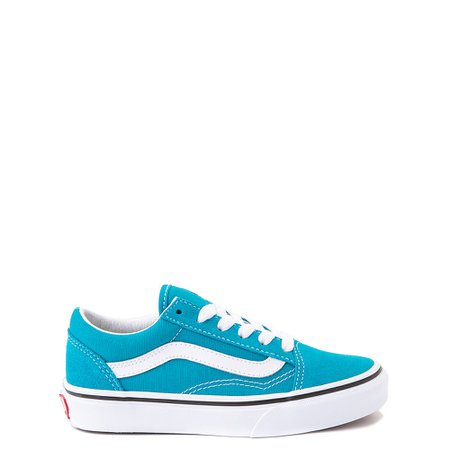 Vans Old Skool Skate Shoe - Little Kid - Caribbean Sea | Journeys