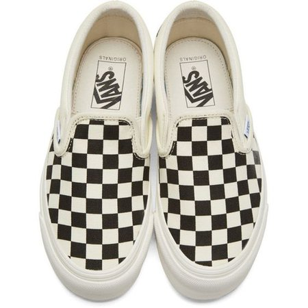 Checkered Slip Ons