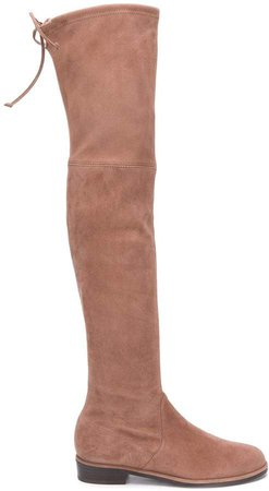 Knee-Length Suede Boots