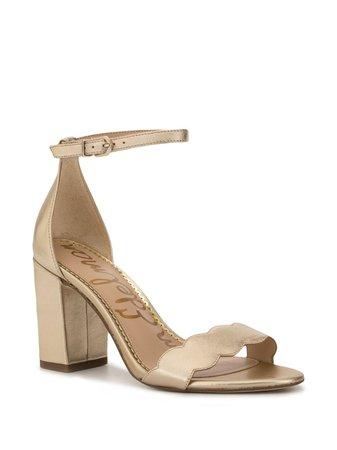 Sam Edelman Odila Scalloped Strap Sandals | Farfetch.com
