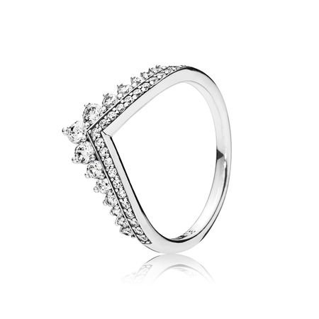 Princess Wish Ring, Clear CZ | PANDORA Jewelry US