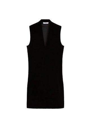 MANGO Velvet dress