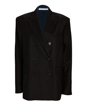 IRO Ayline Double-Breasted Wool Blazer   INTERMIX®