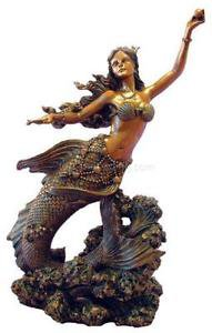 mermaid statues - Google Search
