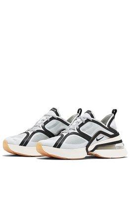 Nike Air Max 270 XX Sneaker in White, Black, Pale Ivory, & Gum Med Brown | REVOLVE
