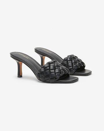 Quilted Slide Heels