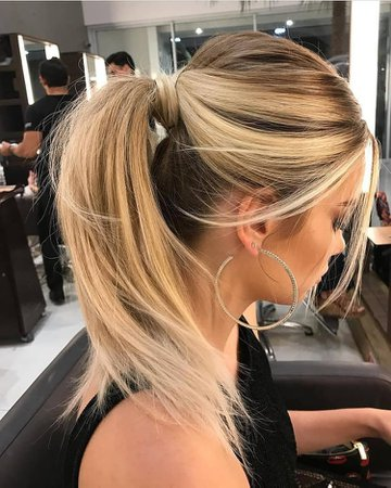ponytail | hair, blonde et ponytail