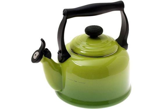 Le Creuset Tradition tea kettle 2,1L, Palm