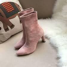 pink suede booties - Google Search