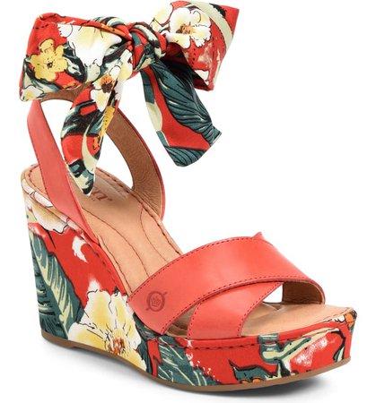 Børn Salton Platform Wedge Sandal (Women) | Nordstrom